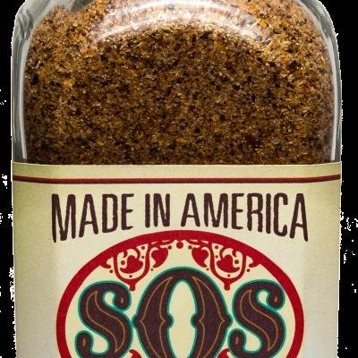 12 oz bottle of SOS Seasoning