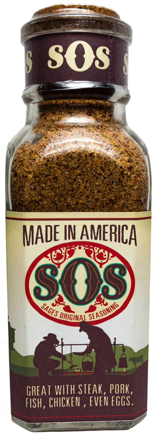 12 oz bottle of SOS Seasoning