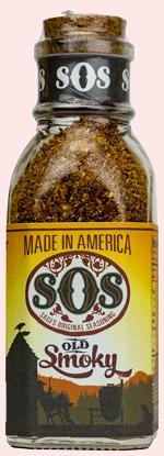4.1oz bottle of Old Smoky